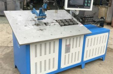 ζεστό πώλησης αυτόματη 3d σύρμα από χάλυβα που αποτελούν CNC μηχανή, 2d σύρμα κάμψη μηχανή τιμή