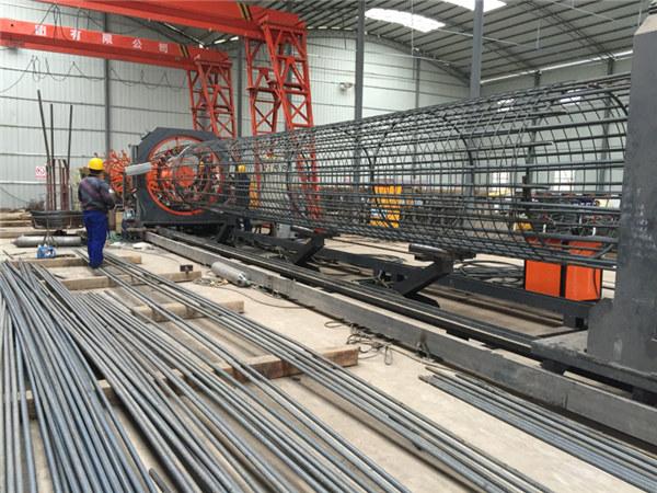 Made in China Απλή λειτουργία Ανθεκτική και ανθεκτική Διασφάλιση ποιότητας χάλυβα με οπλισμό κλωβού μηχανή συγκόλλησης και ενισχύοντας την κατασκευή κλουβιών