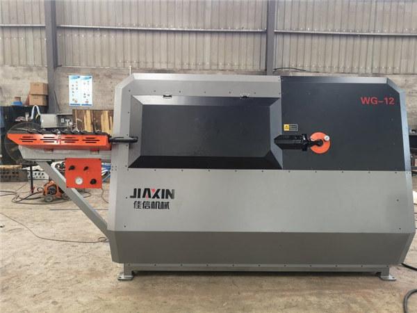 Φορητό οπίσθιο ράφι μηχανή κάμψης CNC στρογγυλό χάλυβα γραμμή κοπής και μηχανή κάμψης